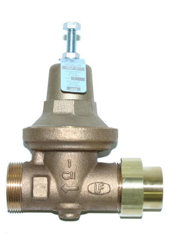 APOLLO 36LF10801 2 FIP BRONZE 25-75PSI PRESSURE REDUCING VALVE WITH CLEANOUT LEAD FREE