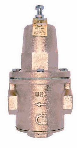 APOLLO 36H21801 2 FIP BRONZE 25-75PSI PRESSURE REDUCING VALVE WITH CLEANOUT