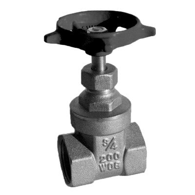 MAINLINE ML206AB-21/2 21/2 THRD BRONZE GATE VALVE LEAD FREE