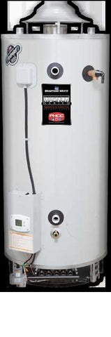 BRADFORD WHITE D100L1993N 100 GAL 199000 BTU ENERGY SAVER NATURAL GAS COMMERCIAL WATER HEATER 75 HEIGHT 301/4 DIAMETER
