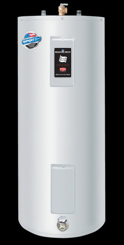 BRADFORD WHITE RE340S6-1NCWW 240V 1PH 4.5KW/ 4.5KW NON-SIMULTANEOUS 40 GALLON SHORT ENERGY SAVER ELECTRIC RESIDENTIAL WATER HEATER 47-7/8 HEIGHT 22 DIAMETER WITH T&P VALVE 6 YEAR WARRANTY