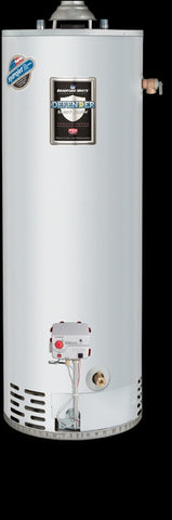 BRADFORD WHITE RG250T6X 36MBTU 50 GALLON TALL ENERGY SAVER ATMOSPHERIC VENT LIQUID PROPANE GAS RESIDENTIAL WATER HEATER 60-1/2 HEIGHT 22 DIAMETER WITH T&P VALVE 6 YEAR WARRANTY
