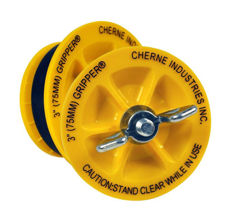 CHERNE 270237 3 END OF PIPE GRIPPER PLUG