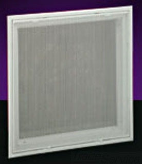 HART AND COOLEY PFTI 20X20 BRIGHT WHITE STEEL PERFORATED FILTER GRILLE
