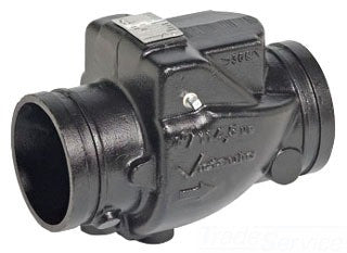 VICTAULIC 716-E 4 GRV BLACK VIC-CHECK DUCTILE IRON CHECK VALVE LESS TAP