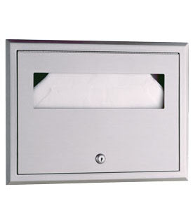 BOBRICK 301 SEAT COVER DISPENSER