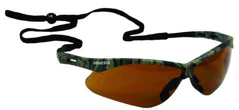 JONES-STEPHENS G30-014 CAMO BRONZE NEMESIS SAFETY GLASSES