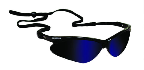 JONES-STEPHENS G30-013 MIRROR BLUE NEMESIS SAFETY GLASSES