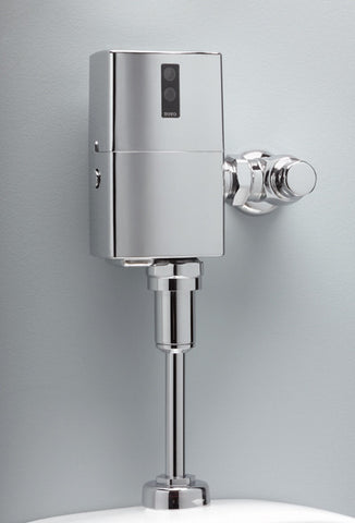 TOTO TEU1LN#CP POLISHED CHROME ECOPOWER ELECTRONIC EXPOSED 0.5 GALLONS PER FLUSH URINAL FLUSH VALVE