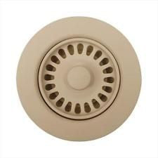 BLANCO 441323 31/2 BISCOTTI SINK WASTE FLANGE WITH STOPPER AND STRAINER BASKET