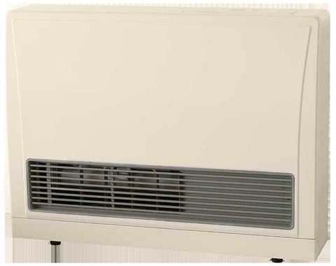 RINNAI EX22CN 81% AFUE 21.5K BTU NATURAL GAS DIRECT VENT WALL FURNACE 22.875 HEIGHT 29.875 WIDTH 10.125 DEPTH