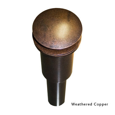 NATIVE TRAILS DR120-WC WEATHERED COPPER 1-1/2 INCH DOME DRAIN