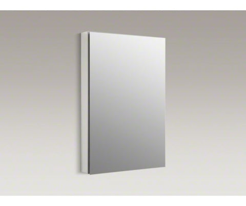 KOHLER K-2943-PG-SAA 24X36 SATIN ANODIZED ALUMINUM CATALAN MIRRORED WALL CABINET