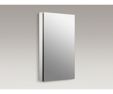 KOHLER K-2918-PG-SAA 20X36 SATIN ANODIZED ALUMINUM CATALAN MIRRORED WALL CABINET