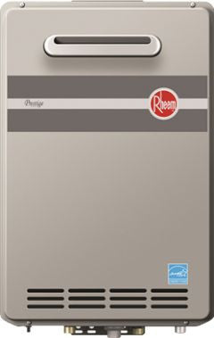RHEEM 672915 RTGH-95XLN-1 11-199MBTU CONDENSING OUTDOOR .94 EFFICIENCY ULTRA LOW NOX NATURAL GAS TANKLESS WATER HEATER