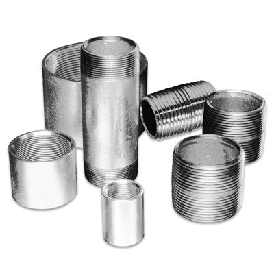 2X4-1/2 STANDARD GALVANIZED WELDED STEEL NIPPLE IMPORT