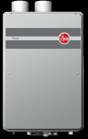 RHEEM 672663 RTGH-95DVLN-1 11-199MBTU CONDENSING INDOOR DIRECT VENT.94 EFFICIENCY ULTRA LOW NOX NATURAL GAS TANKLESS WATER HEATER