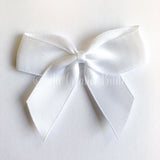 Self Adhesive Stick On Satin Ribbon Bows 5cm x 4cm
