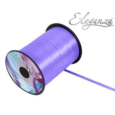 Eleganza 5mm Poly Curling Ribbon 500 yrd Roll - Lavender-The Creative Bride