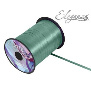 Eleganza 5mm Poly Curling Ribbon 500 yrd Roll - Green-The Creative Bride