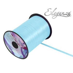 Eleganza 5mm Poly Curling Ribbon 500 yrd Roll - Light Blue-The Creative Bride