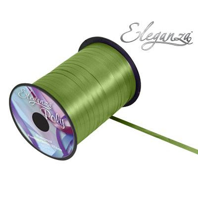 Eleganza 5mm Poly Curling Ribbon 500 yrd Roll - Pistachio Green-The Creative Bride