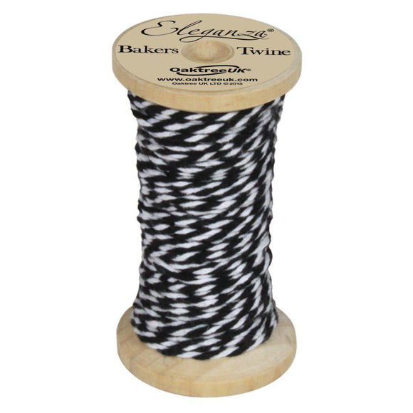 Eleganza Baker's Twine - Black-The Creative Bride