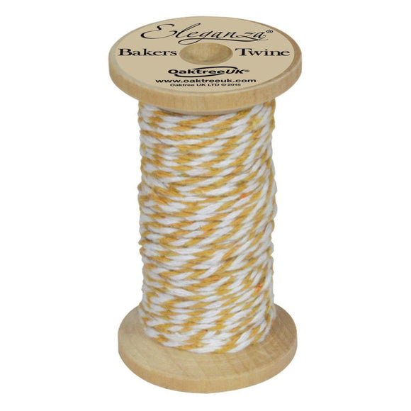 Eleganza Baker's Twine - Gold-The Creative Bride