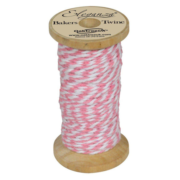 Eleganza Baker's Twine - Light Pink-The Creative Bride