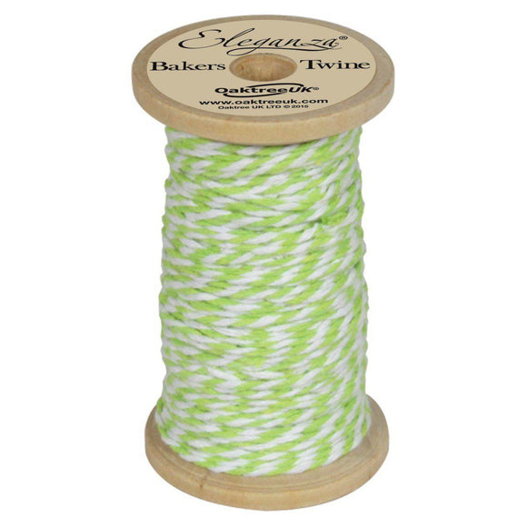 Eleganza Baker's Twine - Lime Green-The Creative Bride