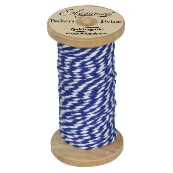 Eleganza Baker's Twine - Royal Blue-The Creative Bride