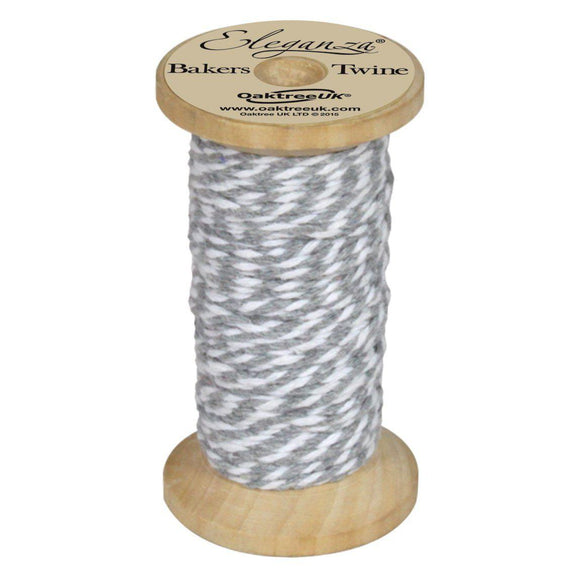 Eleganza Baker's Twine - Silver-The Creative Bride