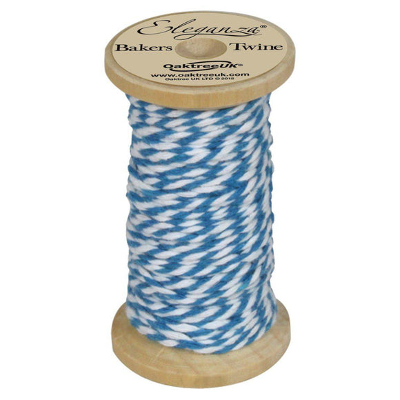 Eleganza Baker's Twine - Turquoise-The Creative Bride
