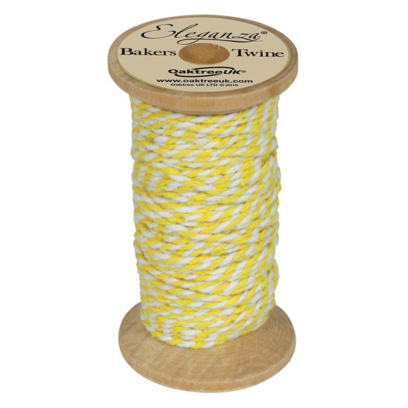 Eleganza Baker's Twine - Yellow-The Creative Bride