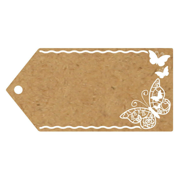 Eleganza Craft Gift Tag - Butterfly-The Creative Bride