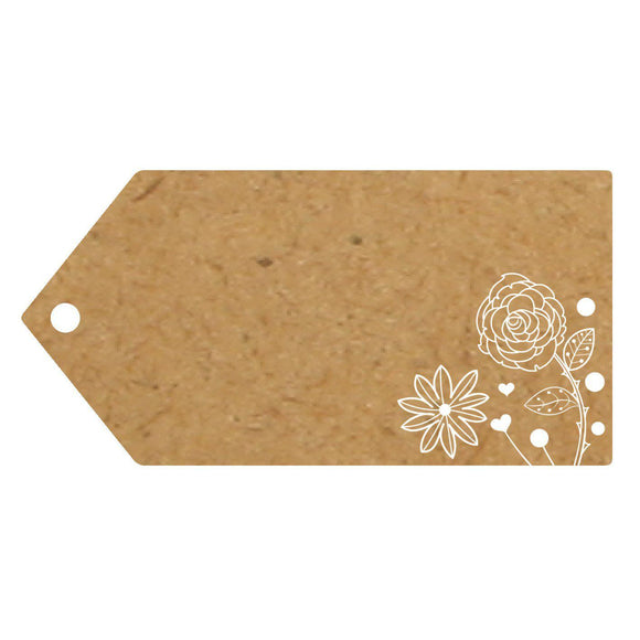 Eleganza Craft Gift Tag - Flower-The Creative Bride