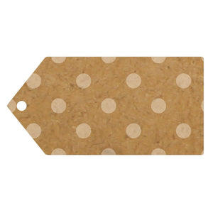 Eleganza Craft Gift Tag - Polka Dots-The Creative Bride