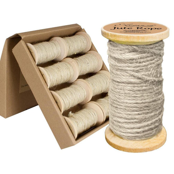 Eleganza Jute Rope - Ivory-The Creative Bride