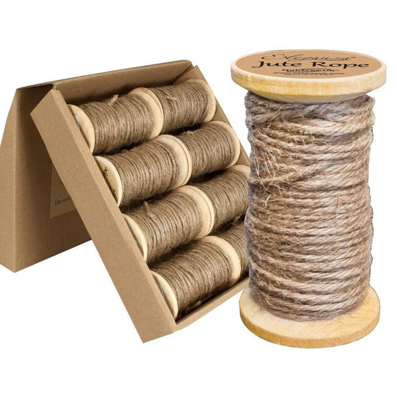 Eleganza Jute Rope - Natural-The Creative Bride