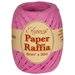 Eleganza Paper Raffia - Fuchsia-The Creative Bride