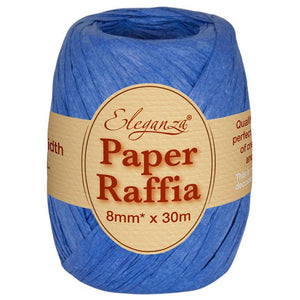 Eleganza Paper Raffia - Royal Blue-The Creative Bride