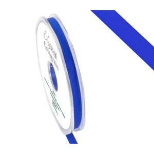 Eleganza Premium Satin Grosgrain Ribbon - Royal Blue 6mm-The Creative Bride