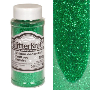 Glitter Kraft Fine Glitter - Emerald-The Creative Bride