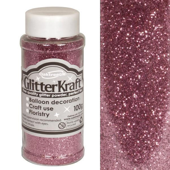 Glitter Kraft Fine Glitter - Light Pink-The Creative Bride