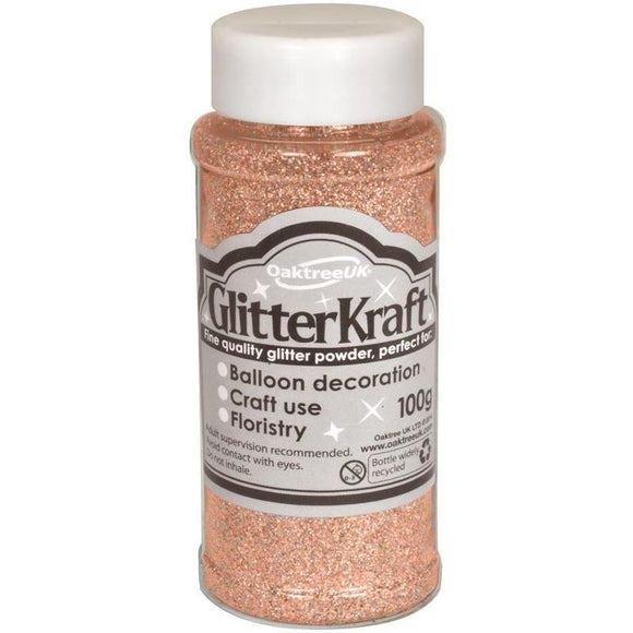 Glitter Kraft Fine Glitter - Rose Gold-The Creative Bride
