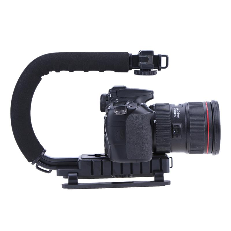 U-Grip Handle Video Stabilizer for Camera or Phone Mount