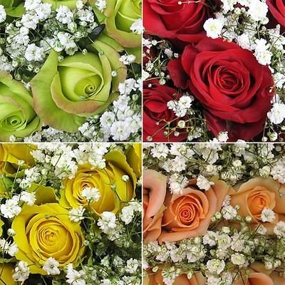 Assorted Rose Bouquets