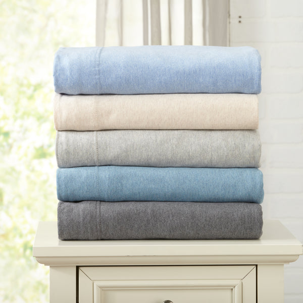 Great Bay Home Carmen Collection Extra-Soft Jersey (T-Shirt) Sheet Set