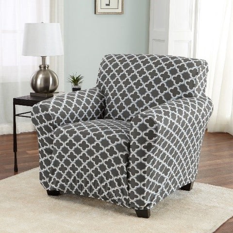 Great Bay Home Breanna Collection strapless twill slipcover