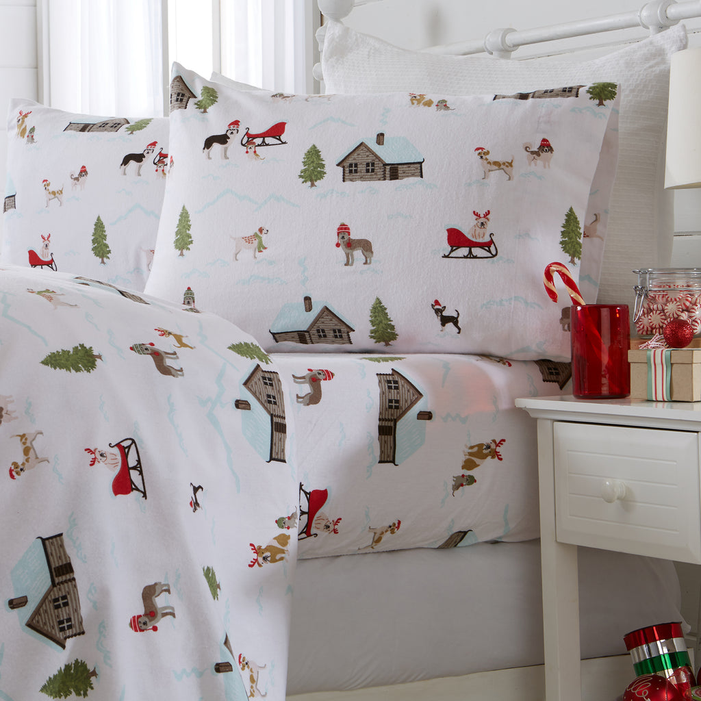 Whittaker 100% Cotton Flannel Sheets